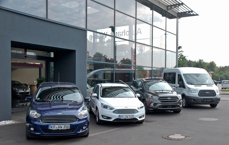 Ford Auswahl - Ford Service Partner