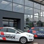 Gebrauchtwagen vor Aotohaus 150x150 - Hol-/Bringservice & Werkstatt-Ersatzwagen